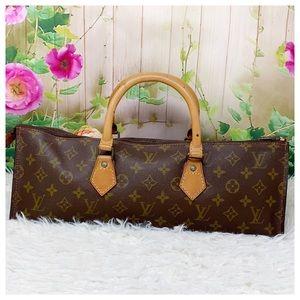 Authentic Louis Vuitton Monogram Satchel Bag